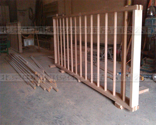 肋木规格要根据实际安装场地确定